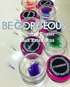 Add a dash of color to your regular lashes! BE GORGEOUS COLORED LASH EXTENSIONS  #begorgeous #begorgeouseyelashes #permanenteyelashextensions #permanentlashes #coloredlashes #brown #green #orange #purple #blue #lashes #lashesonfleek #lashesonpoint #getyoursnow #calltobook