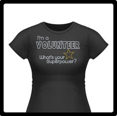 Here's a great volunteer shirt that we did for a PTA training.   #volunteer #rhinestone