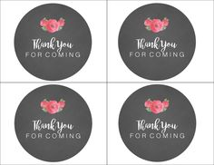 thank you printable labels label printable labels gift tags és