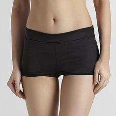 Jaclyn Smith Womens Boy Short Swim Bottoms - Clothing - Womens - Swimwear