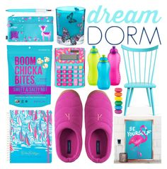 """""""Design Your Dream Dorm with Lands' End: Contest Entry"""" by olgutieuse ❤ liked on Polyvore featuring interior, interiors, interior design, home, home decor, interior decorating, O&G Studio, Lands' End, Matthew Williamson and Lilly Pulitzer"""