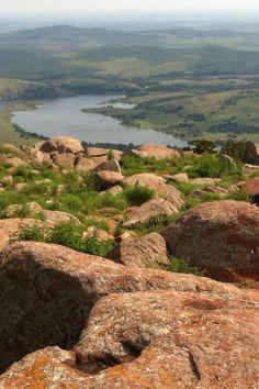From Mt. Scott, Lawton, Oklahoma  ~AKA the Promised Land. :)