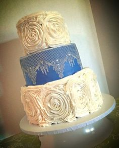 cake lace and ruffles