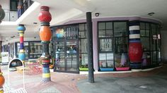 """See 20 photos and 1 tip from 79 visitors to artHOTEL. Hundertwasser Erlebnis besonders ins Bad"""" Four Square, Street View, Hundertwasser, Magdeburg, Architecture"""