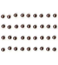 Kaisercraft 3 mm Pearl Strips - 4PK - Chocolate