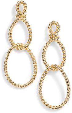 See the Women's Kate Spade Sailor Knot Statement Earrings. Gold Statement Earrings, Diamond Earrings, Nautical Earrings, Fashion Jewelry, Women Jewelry, Kate Spade Earrings, Sailor Knot, Cute Jewelry, Ear Piercings