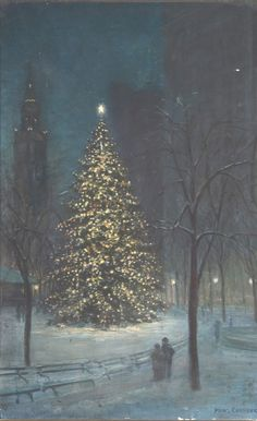 Christmas in Madison Square Park.