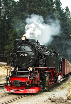 "Journey to the ""Harz"" in Germany: Brockenbahn"