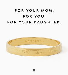 can't go wrong with these gifts for moms (and future moms) from kate spade new york.