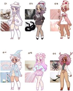 witch aesthetic adopts .:closed:. by jawlatte