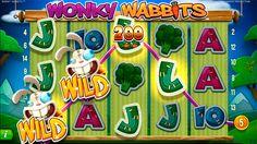 Kuvakaappaus uudesta Wonky Wabbits hedelmäpelistä. Peli joka on ehdottomasti kokeilemisen arvoinen!