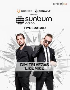 Sunburn Arena with Dimitri Vegas & Like Mike and Marshmello
