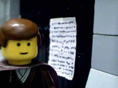 Here's an early stop motion animation LEGO short, made in time for the Reformation Day - Halloween debates.   Martin Luther and his 95 Theses. Two different takes.  Not intended to be taken seriously ;-)