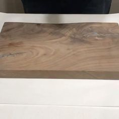 """Featured Follower: @boardmancowoodworks """"Black walnut with some turquoise pigment and epoxy fills. Also my first time trying @mettrumoriginals hemp oil wood finish and I love how it made the grain pop!"""" Kitchen Tools, Kitchen Decor, Wood Oil, Serving Board, Hemp Oil, Butcher Block Cutting Board, Epoxy, It Is Finished, Woodworking"""