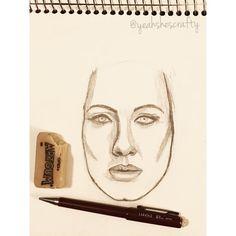 Started a new drawing! #adele #drawing #drawingaday #hello #portrait #sketch #sketchbook #yoch2016 #yeahshescrafty #yeahshescrafty365 #yearofcreativehabits #pencildrawing #creative #creativity #doodle #art #artistsoninstagram