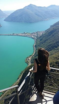The Italian Lakes :: Lago Ceresio, Lugano, Switzerland Places Around The World, Oh The Places You'll Go, Travel Around The World, Places To Travel, Places To Visit, Around The Worlds, Wonderful Places, Beautiful Places, Seen