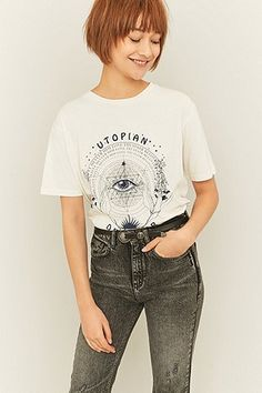 BDG Utopian Dreamer Oversized T-shirt