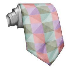 Modern abstract pattern neckwear
