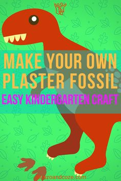 If your kids love dinosaurs, they'll dig this easy craft. Making their very own plaster fossils of their favourite dinos, animals, or even plants will boost their interest in paleontology and open up opportunities for learning. Diy Projects For Kids, Do It Yourself Projects, Easy Crafts For Kids, Diy For Kids, Crafts To Make, Becoming Mom, Fun Group, Kindergarten Crafts, Art Activities For Kids