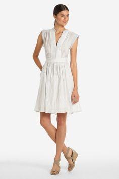 summer dress, white always in. I like the length.