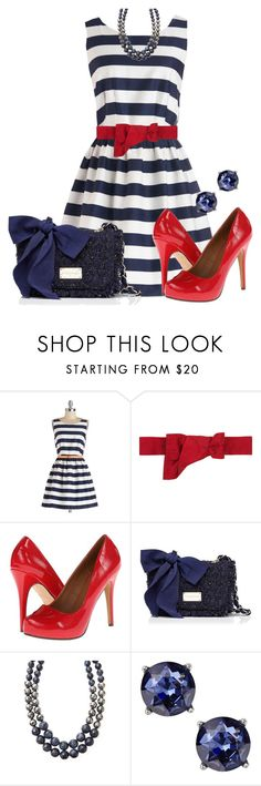 """""""Classy 4th of July"""" by stay813 ❤ liked on Polyvore featuring Valentino, Michael Antonio, Forever New, Weekend Max Mara and Express"""