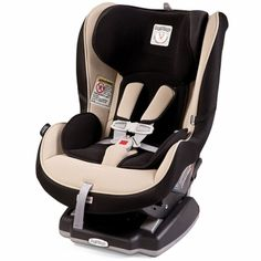 Peg Perego Primo Viaggio SIP Convertible - Crystal Beige. The safety and style of the Primo Viaggio car seat is now available as a Convertible. The Primo Viaggio SIP 5-70 Convertible can hold a child in rear-facing position up to 45 pounds and in forward-facing position up to 70 pounds. Easy to adjust Side Impact Protection keeps your child safe as he grows. $329.99