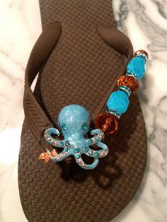 UNDERWATER WONDERLAND   Oceana the Octopus  By Flipinista, Your BFF (tm)   for Information email info@flipinista.com