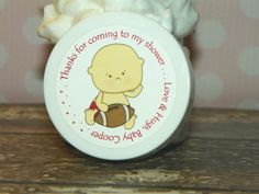 Lil' Sport Football - Personalized Whipped Body Butter Favors
