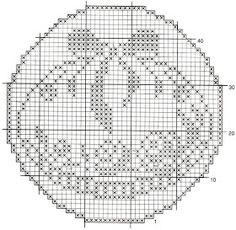 Holiday Crochet Patterns, Doily Patterns, Cross Stitch Patterns, Filet Crochet Charts, Crochet Motif, Crochet Doilies, Fillet Crochet, Easter Cross, Crochet Videos