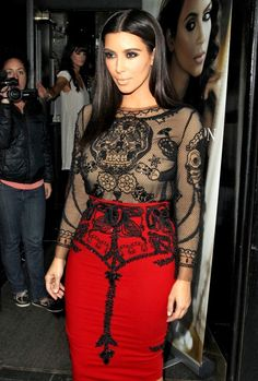Love this Pucci dress on Kim.