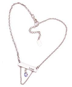 LOVE BAR-S necklace by Tammy Spice Jewelry