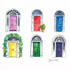 After the rain comes the rainbow 🌈 In one of the rainiest cities it's no wonder there's a rainbow of doorways on every street! Dublin is #day19 of #100DaysAroundTheWorld Where would you like to see next? #the100dayproject