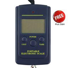 Portable 40kg/10g Electronic Digital Fishing Digital Pocket Scale