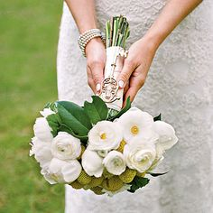 """""""Something Old"""" Bouquet  Photo: A Bryan Photo"""