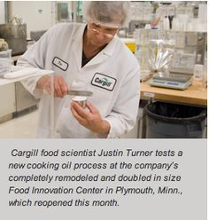 Food companies can take a shortcut to innovation at Cargill's fully remodelled, one-of-a-kind research center in Plymouth, Minn.