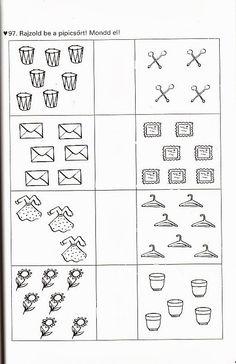 Albumarchívum Kindergarten Addition Worksheets, Literacy Worksheets, Kindergarten Math, Printable Worksheets, Free Math, Greater Than, Preschool Activities, Album, Teaching