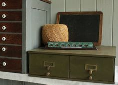 Vintage Industrial File 2 Drawer Cabinet by robinseggbleunest, $148.00