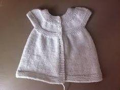Resultado de imagen de robe tricot bebe