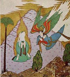Muhammad ﷺ and Gabriel