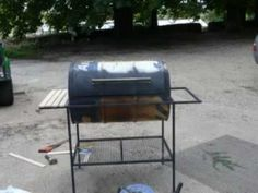 Build A Grill Out Of A 55 Gallon Drum