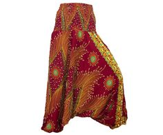 Hey, I found this really awesome Etsy listing at http://www.etsy.com/listing/157251056/womens-colorful-thai-harem-pantsbaggy
