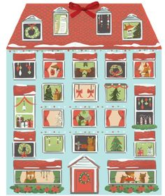 Forest Friends Christmas House Advent Calendar by Galison Publishing Staff, Yasmin Imamura and Quill and Fox Novelty Book) for sale online Homemade Advent Calendars, Advent Calendar Gifts, Advent Calendars For Kids, Advent Calenders, Christmas Calendar, Modern Christmas Decor, Diy Christmas Gifts, All Things Christmas, Christmas 2016