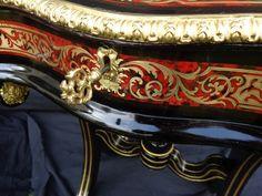 Pupitre - Petit Bureau en marqueterie boulle d'époque Napoléon III