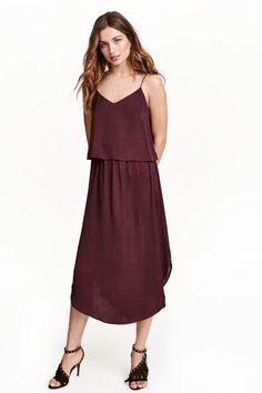 Satin dress | H&M