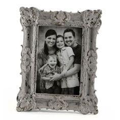Ornate Gray Vintage Picture Frame, 4x6   Kirklands