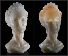 Bust of Deirdre Candle - D.L. & Co. I don't have $450 to throw around for this weeping bust candle, but I love the concept and imagine I could recreate something like this myself for Halloween