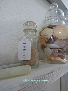make small tags for sand jars..  Love it!!