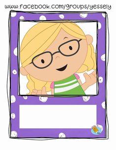 Preschool Names, Preschool Classroom, Preschool Worksheets, Kindergarten Activities, Classroom Clipart, School Clipart, Classroom Displays, Classroom Themes, School Binder Covers