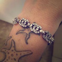 Chanel Bracelet I don't believe it's authentic but it's a really cute in great shape bracelet! :) Jewelry Bracelets