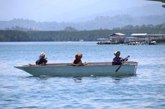 Three ladies in a boat by simonmarlow1